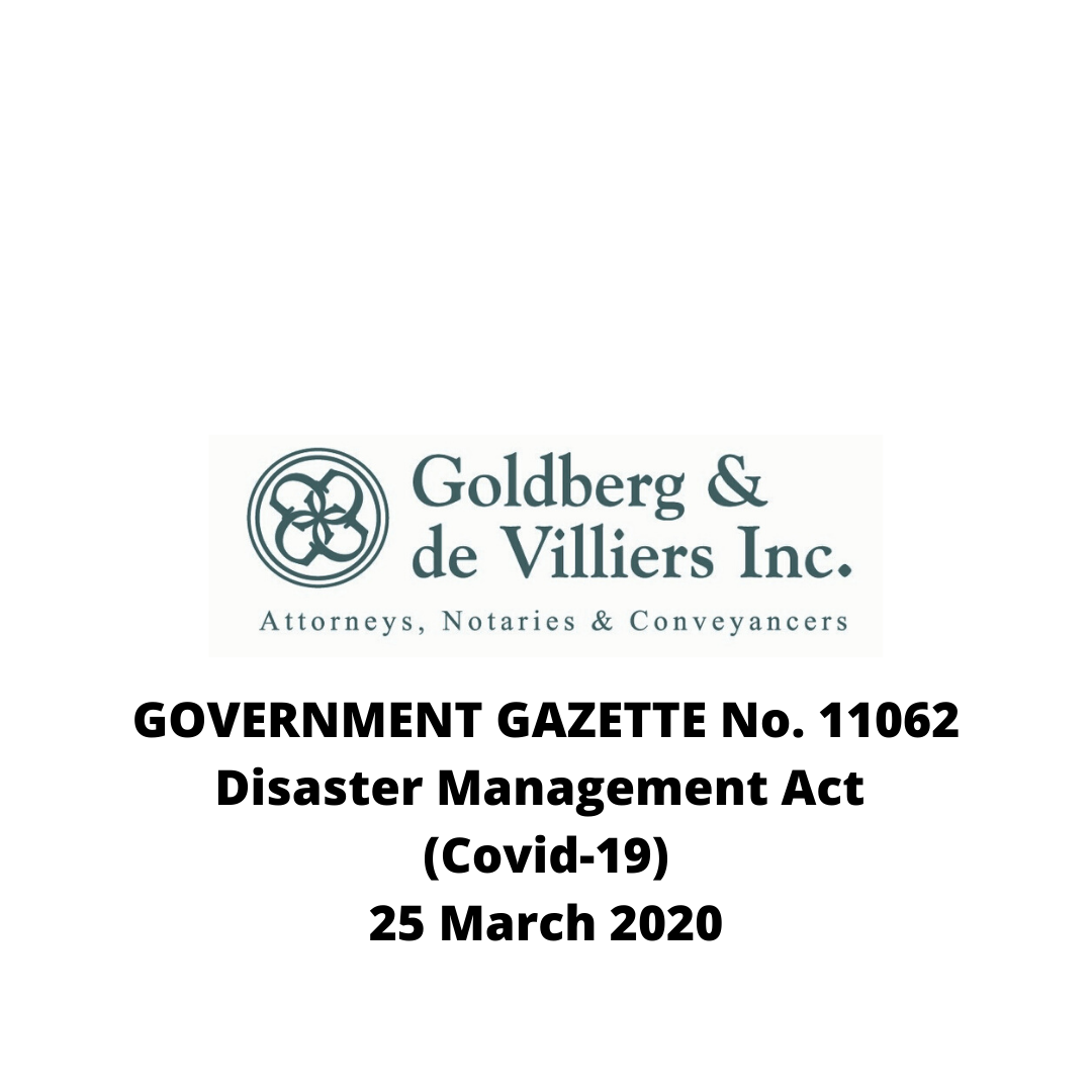 Disaster Management Act