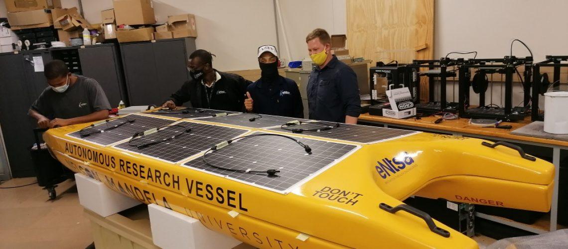 Autonomous Solar Boat prototype going solo soon in Nelson Mandela Bay