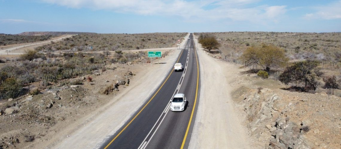 Completed special road maintenance project will improve road safety